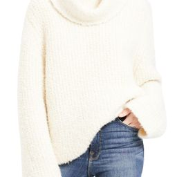Cowl Neck Bell Sleeve Alpaca & Wool Blend Sweater   Nordstrom