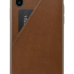 Click Card Leather iPhone X Case | Nordstrom
