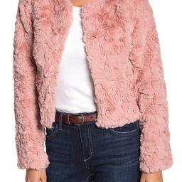 Faux Fur Jacket   Nordstrom Rack
