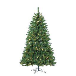 Pre-Lit Montana Pine Artificial Christmas Tree | Pottery Barn (US)