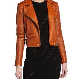 Ashville Leather Moto Jacket | Neiman Marcus