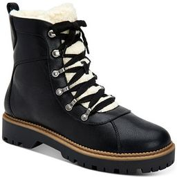 Morggan Lace-Up Combat Booties, Created for Macy's | Macys (US)