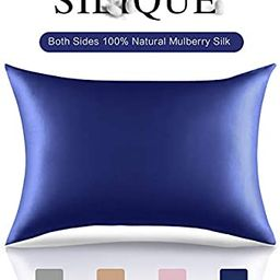 SILIQUE Natural Silk Pillowcases, 100% Mulberry Silk Pillow case for Hair and Skin, Silk Pillow c...   Amazon (US)