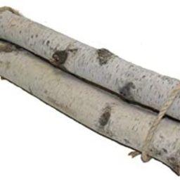 Wilson Enterprises Set of 3 Roped Bundle of Birch Logs   Amazon (US)