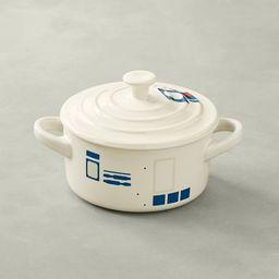 Le Creuset Stoneware Mini Round Cocotte, Star Wars R2-D2™ | Williams-Sonoma