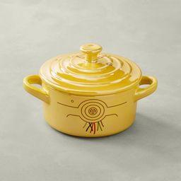 Le Creuset Stoneware Mini Round Cocotte, Star Wars C-3PO™ | Williams-Sonoma