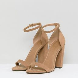 ASOS DESIGN Highball barely there Block Heeled sandals | ASOS US