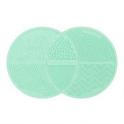 Aqua Makeup Brush Cleaning Mat | World Market
