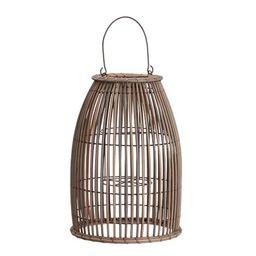 Careyes All-Weather Outdoor Wicker Lantern | Pottery Barn (US)