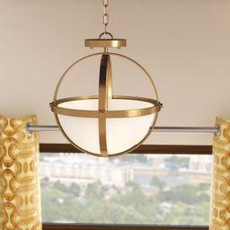 Raine 2 - Light Shaded Globe Chandelier | Wayfair North America