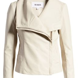 Up to Speed Faux Leather Moto Jacket   Nordstrom