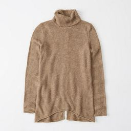 Split-back Turtleneck Sweater   Abercrombie & Fitch US & UK