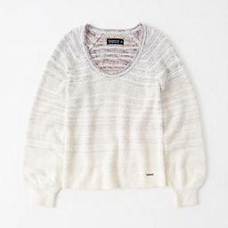 Eyelash V-Neck Sweater   Abercrombie & Fitch US & UK