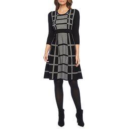 Liz Claiborne 3/4 Sleeve Sweater Dress | JCPenney