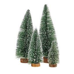 KKSHINE Desktop Miniature Pine Tree tabletop christmas tree small pine tree decor christmas tree ...   Amazon (US)