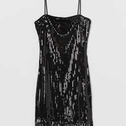 Sequined Dress with Fringe | H&M (US)
