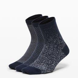 Born To Sparkle Sock 3 Pack   Lululemon (US)
