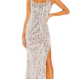Danielle Maxi Dress in Shimmer Multi | Revolve Clothing (Global)