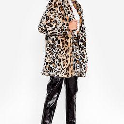 Grrrl Power Faux Fur Leopard Coat   NastyGal (US & CA)