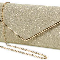 Evening Bag Clutch Purses for Women,Mansherry Ladies rhinestones Sparkling Party Handbag Wedding ...   Amazon (US)
