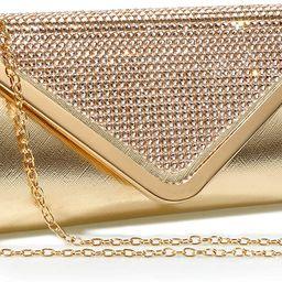 Evening Bag Sparkling Clutch Purses for Women,Mansherry Ladies Party Handbag rhinestones Wedding ...   Amazon (US)