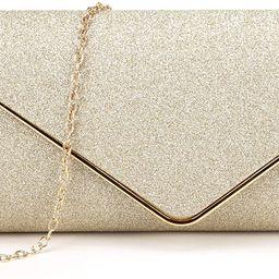 Clutch Purses for Women Evening Bags Sparkling Shoulder Envelope Party Cross Body Handbags   Amazon (US)