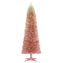 6ft. Pre-Lit Alexa Artificial Christmas Tree, Clear Lights by Ashland® | Michaels Stores