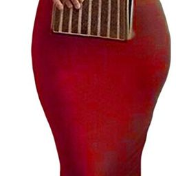 Womens Turtleneck Long Sleeve Bodycon Midi Sheath Dress   Amazon (US)