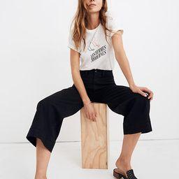 Emmett Wide-Leg Crop Pants   Madewell