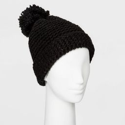 Women's Cuffed Knit Beanie with Lining - Universal Thread™ One Size | Target