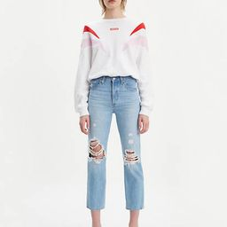 501® Original Cropped Ripped Women's Jeans | LEVI'S (US)