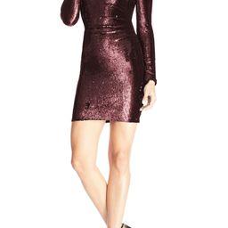 Lolita Sequin Long Sleeve Minidress   Nordstrom