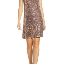 x Hi Sugarplum! Holiday Soirée Sequin Shift Dress | Nordstrom