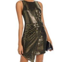 Sequined Twist-Front Dress - 100% Exclusive   Bloomingdale's (US)