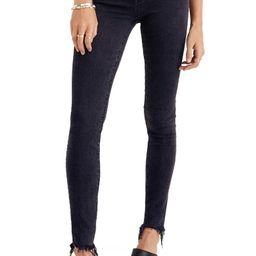 9-Inch Button Ankle Skinny Jeans | Nordstrom
