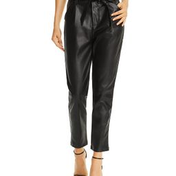 Faux Leather Paperbag-Waist Pants - 100% Exclusive | Bloomingdale's (US)