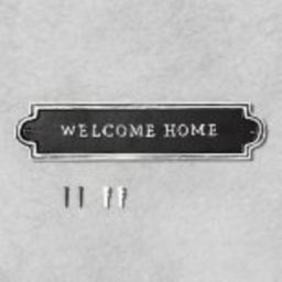Target/Home/Home Decor/Wall Decor/Wall AccentsWelcome Home Sign Black - Hearth & Hand™ with ...   Target