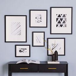 Build a Gallery Wall Sets - Black Frames   West Elm (US)