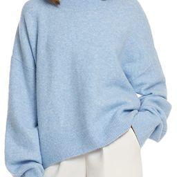 Woolen Bloom Women Lightweight Sweater Mock Neck Oversized Loose Winter Sweaters Pullover Long Sl...   Amazon (US)