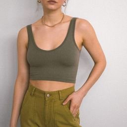 Out From Under Drew Seamless Ribbed Bra Top | Urban Outfitters (US and RoW)