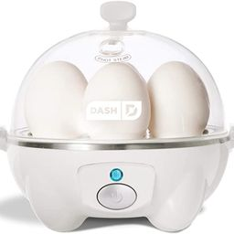 Dash Rapid Egg Cooker: 6 Egg Capacity Electric Egg Cooker for Hard Boiled Eggs, Poached Eggs, Scr...   Amazon (US)