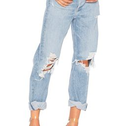 AGOLDE 90s High Rise Loose Fit in Fall Out from Revolve.com | Revolve Clothing (Global)