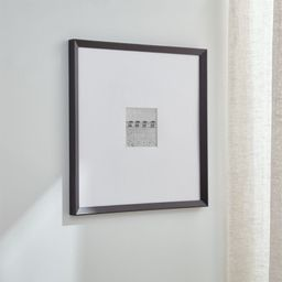 Icon 5x5 Black Wall Frame + Reviews   Crate and Barrel   Crate & Barrel