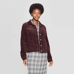 Women's Corduroy Jean Jacket - Universal Thread™ | Target