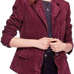 Women Mulberry Small Byron Corduroy Blazer Jacket | Amazon (US)
