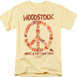 Woodstock Peace Symbol T Shirts & Stickers | Amazon (US)