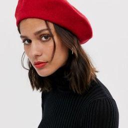 ASOS DESIGN wool beret | ASOS US