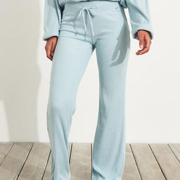 Dreamworthy Ribbed Flare Pants   Hollister US