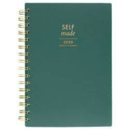 """2020 Planner 5.5""""x 8.5"""" Green - Create & Cultivate 