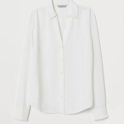 V-neck Blouse | H&M (US)